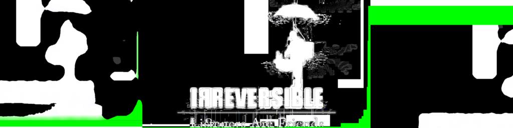 Radio Irreversible Logo with glitch added